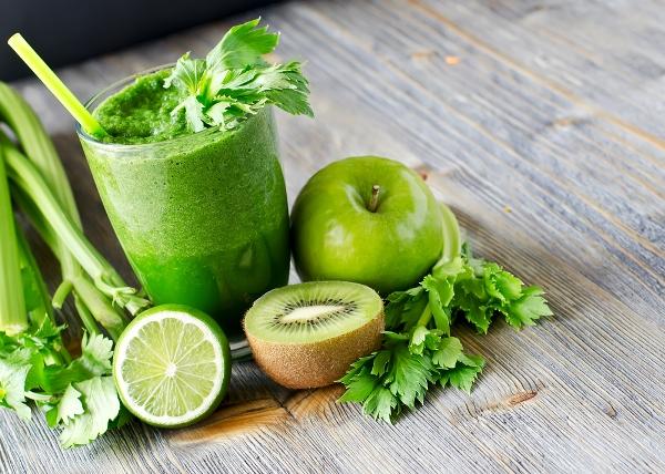 cucumber and kiwi