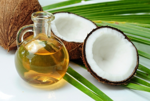 message-with-coconut-oils