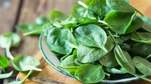 spinach- Top 10 Most Nutritious Foods in the World