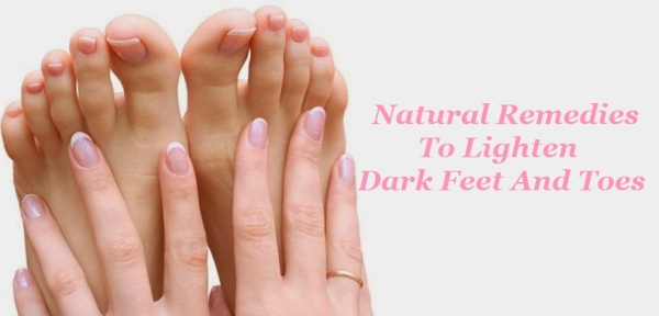 How to Lighten Your Dark Hands and Feet
